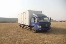 福田欧马可国四单桥厢式运输车170马力5-10吨(BJ5139XXY-F2)