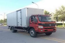 福田欧马可国四单桥厢式运输车156马力5吨以下(BJ5099XXY-F1)