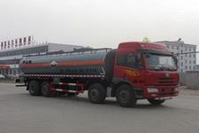 CLW5313GFWC4型程力威牌腐蚀性物品罐式运输车图片