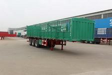通亚达牌CTY9361CCY型仓栅式运输半挂车图片