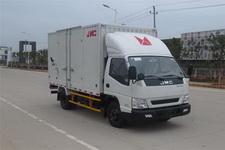 江铃汽车国四单桥厢式运输车109马力5吨以下(JX5048XXYXGB2)