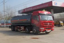CLW5316GFWC4型程力威牌腐蚀性物品罐式运输车图片