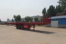 豫前通11米30.5吨3轴平板自卸半挂车(HQJ9371ZZXP)