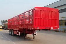 华威翔运牌CYX9400CCYE型仓栅式运输半挂车图片