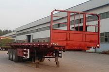 华威翔运牌CYX9401ZZXP型平板自卸半挂车图片
