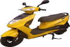 竞隆牌JL125T-5E型两轮摩托车