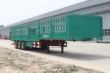 庄宇12米33吨3仓栅式运输半挂车