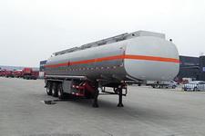 勤宏11.5米29.6吨3轴易燃液体罐式运输半挂车(SQH9402GRY)
