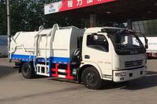 程力威牌CLW5080ZDJD5型压缩式对接垃圾车