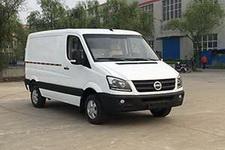 卡威牌JNQ5042XXYBEV型纯电动厢式运输车