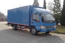 江淮骏铃国四单桥厢式运输车124-160马力5吨以下(HFC5056XXYP91K2C5)