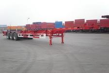 骏通12.6米34.5吨3轴集装箱运输半挂车(JF9404TJZG)
