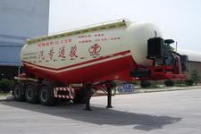 骏通9.6米25吨3轴中密度粉粒物料运输半挂车(JF9341GFL)