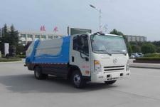 大运牌DYX5074ZYSBEV1AALJFAGK型纯电动压缩式垃圾车图片