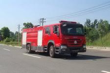 江特牌JDF5204GXFPM80型泡沫消防车
