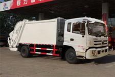 程力威牌CLW5162ZYSE5型压缩式垃圾车