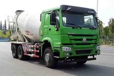 日昕牌HRX5250GJB38ZQ型混凝土搅拌运输车