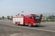 江特牌JDF5080GXFSG30/A型水罐消防车
