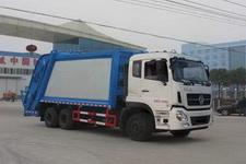 东风天龙6×4后八轮压缩式垃圾车