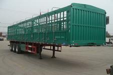 金君卫牌HJF9401CCYA型仓栅式运输半挂车图片