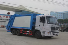 程力威牌CLW5250ZYSD5型压缩式垃圾车