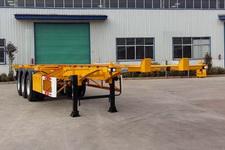 齐鲁宏冠牌GHG9400TJZ型集装箱运输半挂车图片