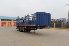 通亚达牌CTY9380CCY型仓栅式运输半挂车图片