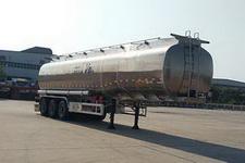 华骏牌ZCZ9400GSYHJG型铝合金食用油运输半挂车图片