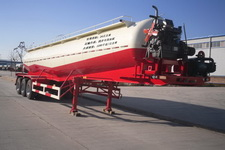 骏通12.2米28吨3轴下灰半挂车(JF9402GXH)
