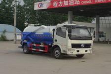 程力威牌CLW5070GXWE5NG型吸污车