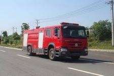 江特牌JDF5204GXFSG80型水罐消防车