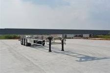 欧曼14米35.3吨3轴铝合金集装箱运输半挂车(HFV9402TJZA)