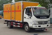 程力威牌CLW5081XQYB5型爆破器材运输车