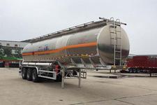 华骏牌ZCZ9400GRYHJG型铝合金易燃液体罐式运输半挂车图片
