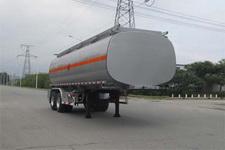 陆平机器9米24.2吨2轴易燃液体罐式运输半挂车(LPC9350GRYS)