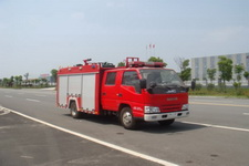 江特牌JDF5065GXFSG15/A型水罐消防车