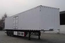 大运牌DYX9380X350A型厢式运输半挂车图片