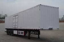 大运牌DYX9400X368A型厢式运输半挂车图片