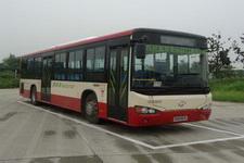 海格牌KLQ6109GAHEVE4B型混合动力城市客车图片