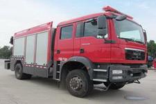 中联牌ZLJ5140TXFJY98型抢险救援消防车图片