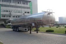 盛润12米33.1吨3轴铝合金液态食品运输半挂车(SKW9402GYS)