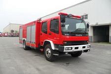 川消牌SXF5160GXFAP50/QL1型A类泡沫消防车图片