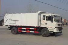 程力威牌CLW5160ZDJT5型压缩式对接垃圾车