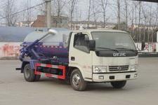 程力威牌CLW5070GXWD5型吸污车