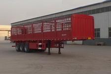 轩畅牌JFH9400CCY型仓栅式运输半挂车