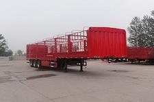 智沃12米33.5吨3轴仓栅式运输半挂车(LHW9401CCY)