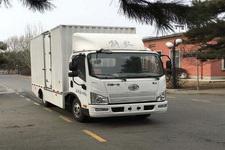 解放牌CA5042XXYP40LEVA84-3型纯电动厢式运输车图片