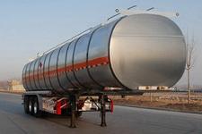 金碧12.7米33吨3轴铝合金易燃液体罐式运输半挂车(PJQ9402GRYL)