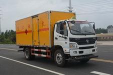 多士星牌JHW5120XRYB-F6型易燃液体厢式运输车图片