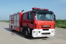 海潮牌BXF5170GXFPM60/YW型泡沫消防车